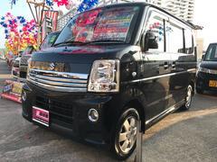 沖縄の中古車 スズキ エブリイワゴン 車両価格 74万円 リ済込 平成23年 9.6万K ブラック