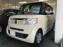 沖縄の中古車 ホンダ N BOX 車両価格 69万円 リ済込 平成24年 9.4万K ベージュ