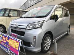 沖縄の中古車 ダイハツ ムーヴ 車両価格 64万円 リ済込 平成25年 9.4万K ブライトシルバーメタリック