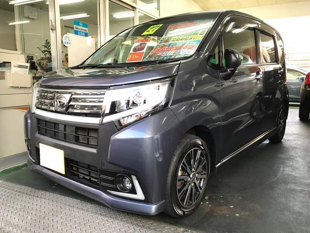 沖縄の中古車 ダイハツ ムーヴ 車両価格 89万円 リ済込 平成27後 7.3万km ダークグレー