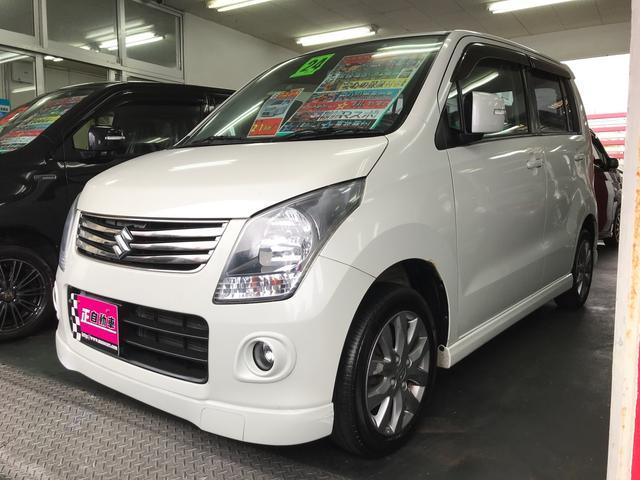 沖縄の中古車 スズキ ワゴンR 車両価格 49万円 リ済込 平成24年 9.4万km パールホワイト