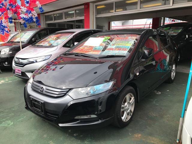 沖縄の中古車 ホンダ インサイト 車両価格 69万円 リ済込 平成24年 7.5万km ブラック