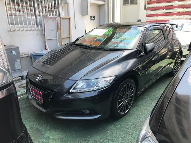 沖縄県の中古車ならCR-Z αブラックレーベル ナビ 地デジTV 無限Rスポ キーレス