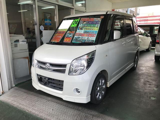 沖縄県の中古車ならパレット T ターボ パワースライドドア 純正フルエアロ 純正アルミ