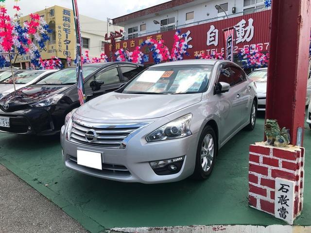沖縄の中古車 日産 ティアナ 車両価格 95万円 リ済込 2014(平成26)年 7.2万km シルバー