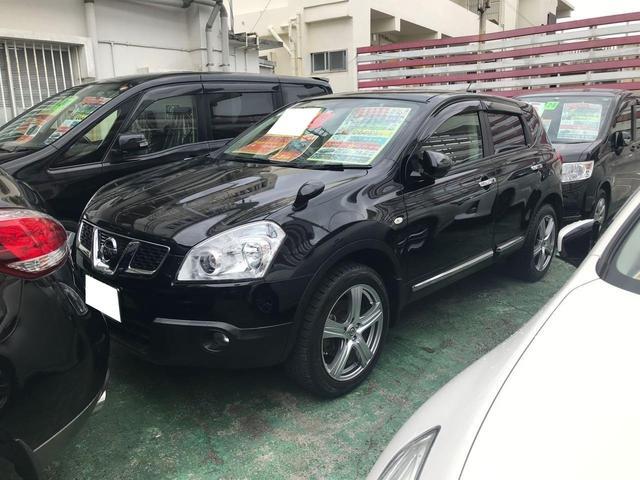 沖縄の中古車 日産 デュアリス 車両価格 125万円 リ済込 2013(平成25)年 7.5万km ブラック