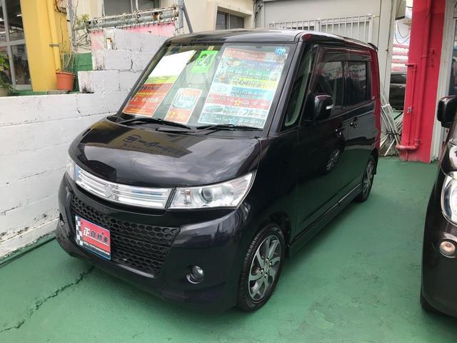 沖縄の中古車 スズキ パレットSW 車両価格 54万円 リ済込 2012(平成24)年 9.1万km ブラック