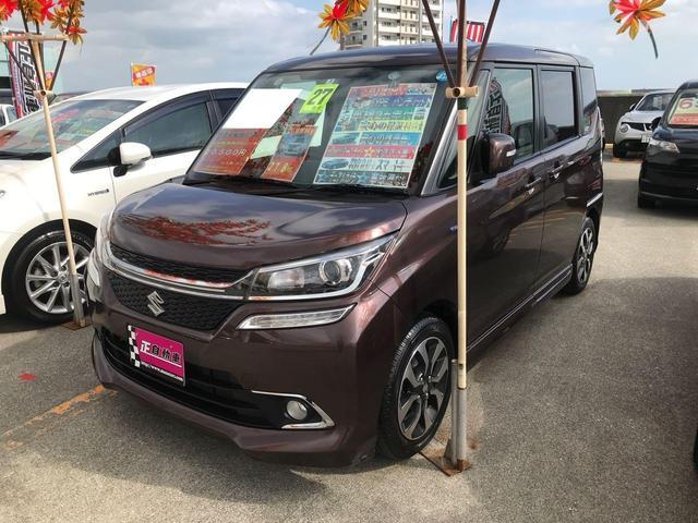 沖縄県宜野湾市の中古車ならソリオバンディット ハイブリッドMV デュアルカメラブレーキサポート