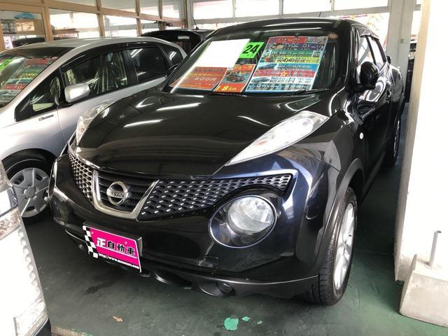 沖縄県宜野湾市の中古車ならジューク 15RXタイプV TV ナビ プッシュスタート スマートキー