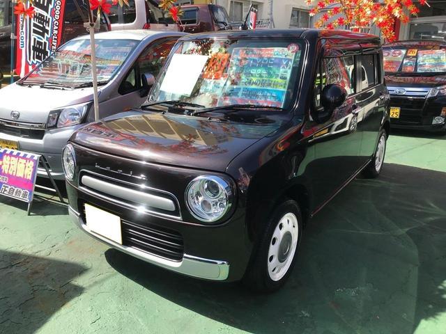 沖縄県の中古車ならアルトラパンショコラ X プッシュスタート ベンチシート 社外アルミ