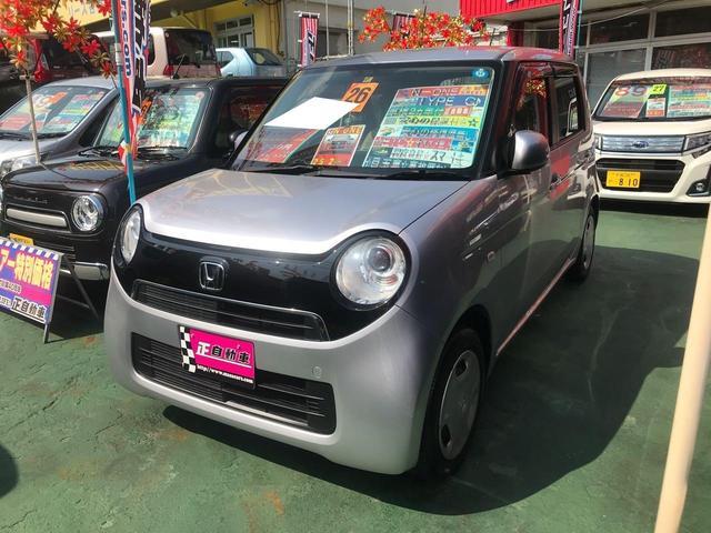 沖縄の中古車 ホンダ N-ONE 車両価格 49万円 リ済込 2014(平成26)年 9.0万km シルバー