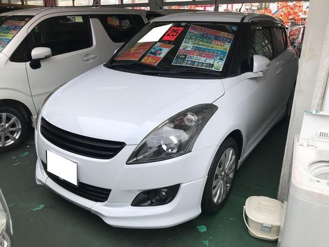 沖縄の中古車 スズキ スイフト 車両価格 45万円 リ済込 2013(平成25)年 9.5万km パールホワイト