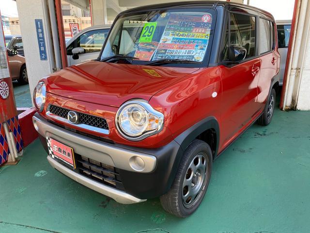 沖縄県の中古車ならフレアクロスオーバー XS イクリプスナビ エネチャージ プッシュスタート