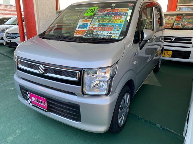 沖縄県の中古車ならワゴンR ハイブリッドFX アイドリングストップ ベンチシート ETC