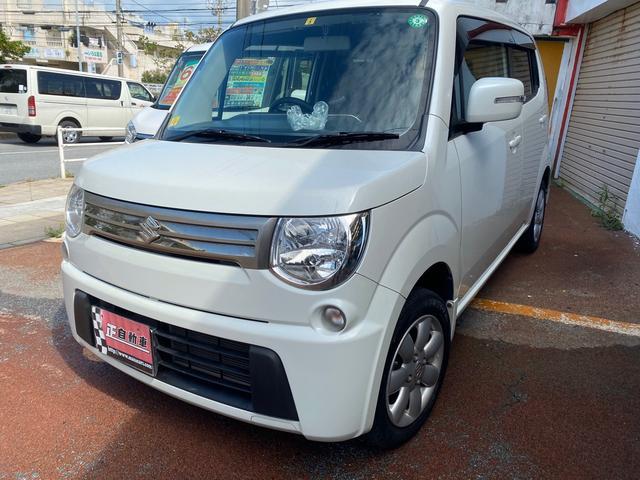 沖縄の中古車 スズキ MRワゴン 車両価格 49万円 リ済込 2013(平成25)年 8.5万km パールホワイト