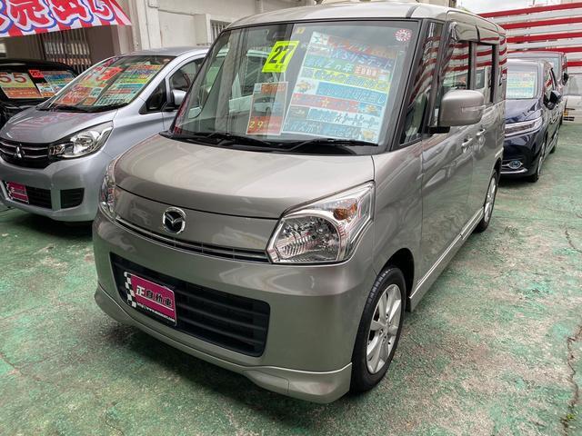 沖縄の中古車 マツダ フレアワゴン 車両価格 64万円 リ済込 2015(平成27)年 9.1万km グレーM