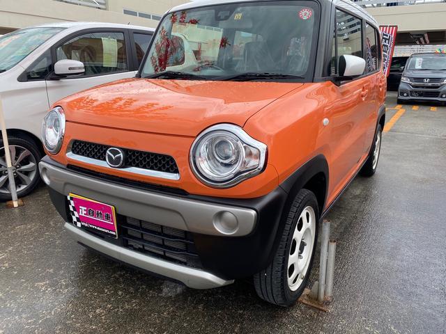 沖縄県の中古車ならフレアクロスオーバー XG イクリプスナビ プッシュスタート 電格ミラー ETC