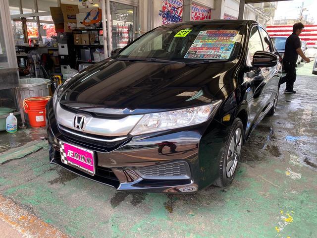 沖縄県宜野湾市の中古車ならグレイス ハイブリッドLX 純正インターナビ TV ワンオーナー
