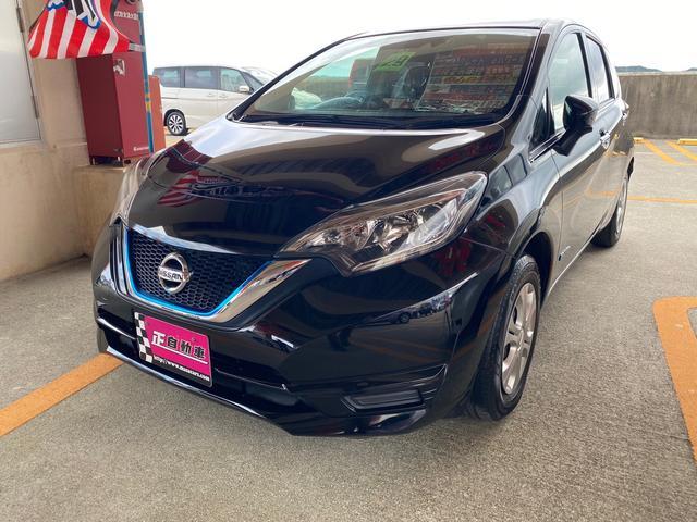 沖縄の中古車 日産 ノート 車両価格 95万円 リ済込 2017(平成29)年 5.0万km ブラック