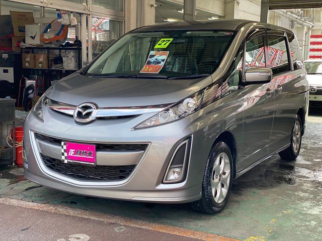 沖縄の中古車 マツダ ビアンテ 車両価格 95万円 リ済込 2015(平成27)年 9.2万km グレーM