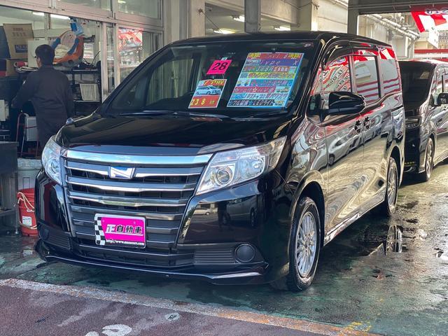 沖縄県の中古車ならノア ハイブリッドX ディライトプラス アルパインナビ TV プッシュスタート LEDライト 三列シート 純正アルミ 両側パワースライドドア ETC トヨタセーフティセンス スマートキー