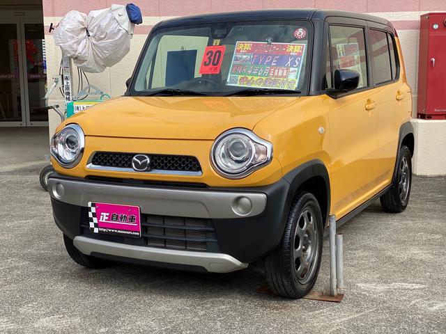 沖縄県の中古車ならフレアクロスオーバー XS 社外ナビ TV プッシュスタート スマートキー HID ベンチシート シートヒーター 電格ミラー ETC 禁煙車 バックカメラ