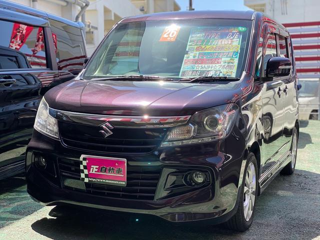 沖縄の中古車 スズキ ソリオバンディット 車両価格 59万円 リ済込 2014(平成26)年 9.1万km ダークパープル