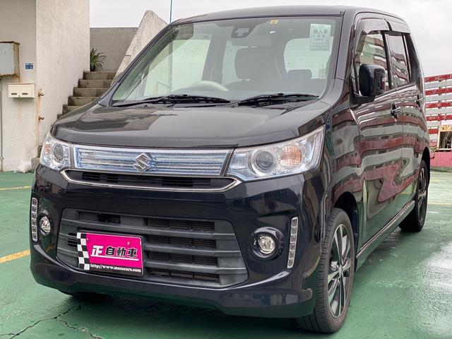 沖縄の中古車 スズキ ワゴンRスティングレー 車両価格 64万円 リ済込 2016(平成28)年 9.2万km ブラック