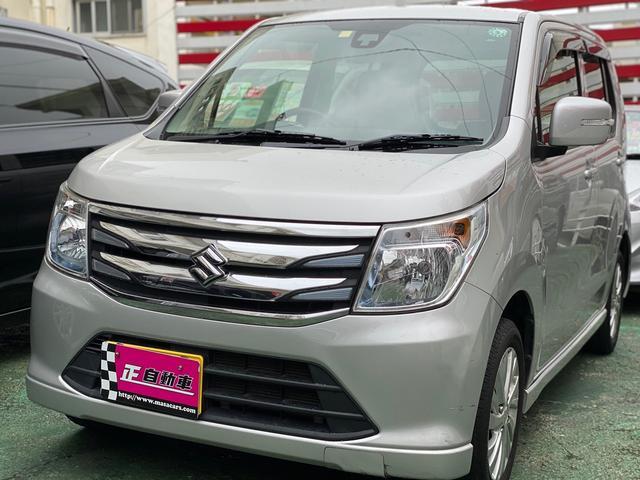 沖縄の中古車 スズキ ワゴンR 車両価格 54万円 リ済込 2015(平成27)年 9.1万km シルバー