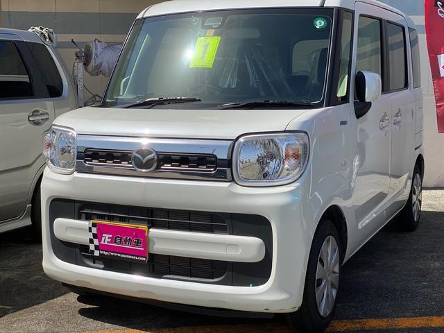 沖縄県の中古車ならフレアワゴン ハイブリッドXS メモリーナビ USB入力端子 プッシュスタート スマートキー ベンチシート 両側パワースライドドア シートヒーター 電格ミラー ETC 禁煙車 バックカメラ