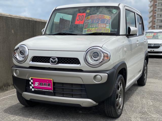 沖縄の中古車 マツダ フレアクロスオーバー 車両価格 109万円 リ済込 2018(平成30)年 4.6万km パールホワイト