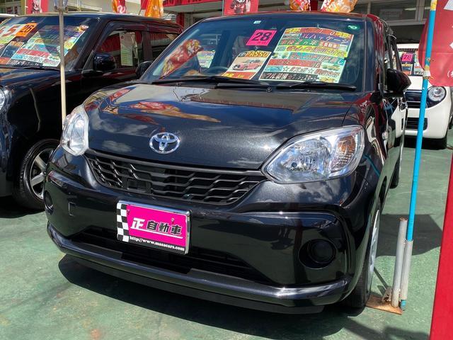 沖縄の中古車 トヨタ パッソ 車両価格 69万円 リ済込 2016(平成28)年 8.2万km ブラック