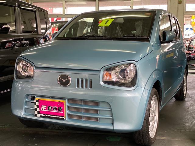沖縄の中古車 マツダ キャロル 車両価格 74万円 リ済込 2019年 2.9万km ライトブルー