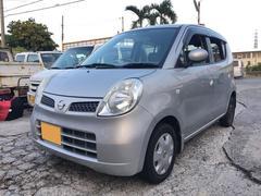 沖縄の中古車 日産 モコ 車両価格 28万円 リ済込 平成18年 6.0万K シルバー