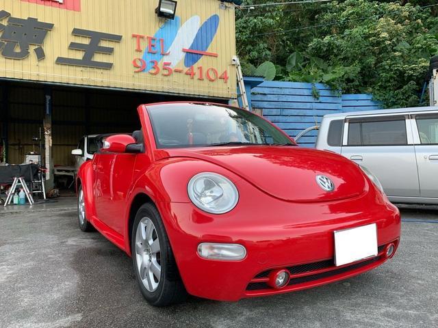 VW ニュービートル:沖縄県中古車の新着情報