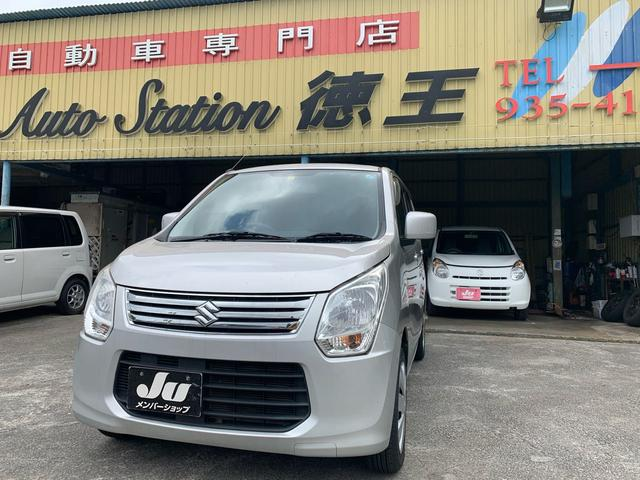 沖縄の中古車 スズキ ワゴンR 車両価格 24万円 リ済込 2012(平成24)年 10.3万km シルバー
