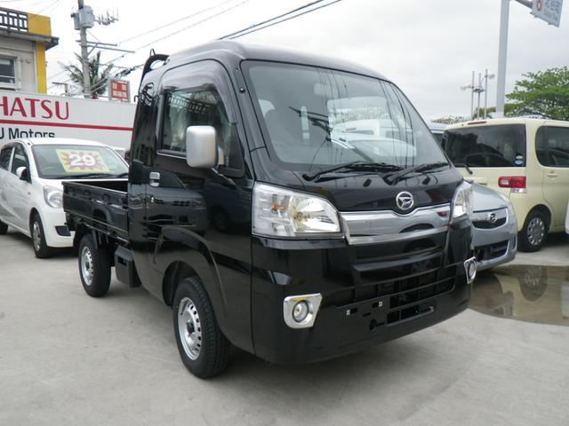 沖縄の中古車 ダイハツ ハイゼットトラック 車両価格 99万円 リ済込 新車  ブラック