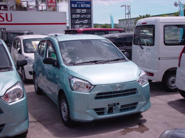 沖縄の中古車 ダイハツ ミライース 車両価格 91万円 リ済込 新車  ライトブルー