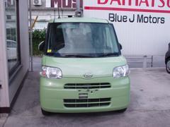 沖縄の中古車 ダイハツ タント 車両価格 45万円 リ済込 平成24年 7.5万K グリーン