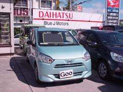 沖縄の中古車 ダイハツ ミライース 車両価格 87万円 リ済込 平成29年 6K ライトブルーII