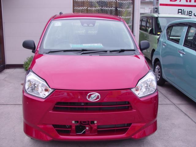 沖縄の中古車 ダイハツ ミライース 車両価格 95万円 リ済込 2021(令和3)年 6km ワイン