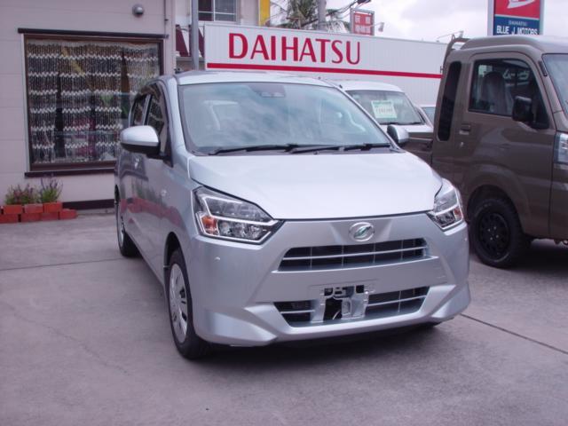 沖縄の中古車 ダイハツ ミライース 車両価格 108万円 リ済込 新車  グレー