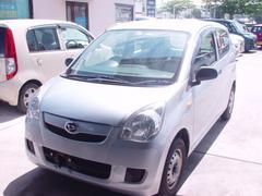 沖縄の中古車 ダイハツ ミラ 車両価格 18万円 リ済込 平成23年 7.7万K グレー