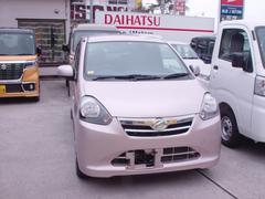 沖縄の中古車 ダイハツ ミライース 車両価格 45万円 リ済込 平成25年 4.5万K ピンク