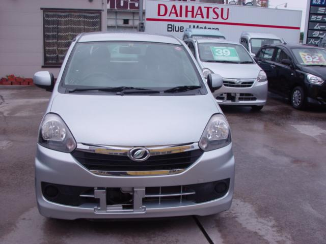沖縄の中古車 ダイハツ ミライース 車両価格 29万円 リ済込 平成25年 6.4万km シルバー