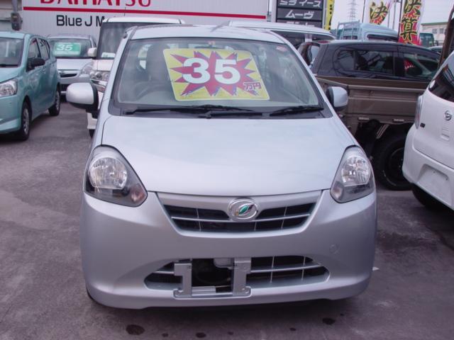 沖縄の中古車 ダイハツ ミライース 車両価格 29万円 リ済込 平成24年 8.9万km シルバー
