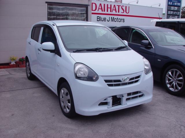 沖縄の中古車 ダイハツ ミライース 車両価格 39万円 リ済込 平成24年 6.3万km ライトブルー