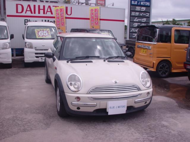 沖縄の中古車 MINI MINI 車両価格 15万円 リ済込 2004(平成16)年 12.8万km パール
