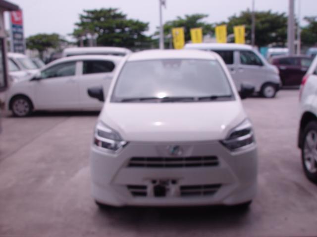 沖縄の中古車 ダイハツ ミライース 車両価格 72万円 リ済込 2017(平成29)年 2.2万km ホワイト