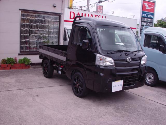 沖縄の中古車 ダイハツ ハイゼットトラック 車両価格 85万円 リ済込 2019(令和1)年 6km ブラック